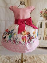 Vestido Patrulha Canina - Cartoon kids