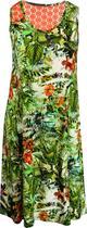 Vestido Pau a Pique estampado Verde -