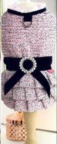 Vestido pet tweed clássico  Tam.G - Malloo