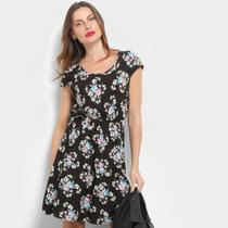 Vestido Sofia Fashion Manga Curta -