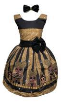 Vestido Temático Lol Queen Bee - Pequenos Encantos Baby