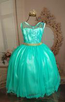 Vestido Verde ariel 2109 - Enjoy kids