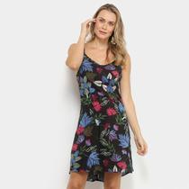 Vestido Yutz Curto Evasê Floral -