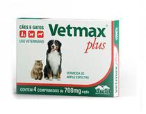 Vetmax 10 kg - 4 comprimidos - Vetnil