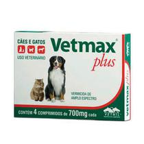 Vetmax Plus 700mg - 4 comprimidos - Neon Pet Shop