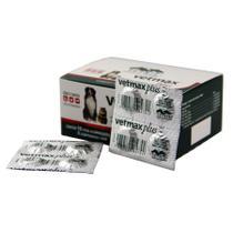 Vetmax Plus Vermífugo 10kg 40 comprimidos Vetnil Cães e Gatos -
