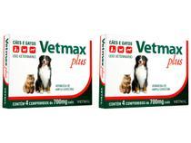 Vetmax Plus Vetnil 700 Mg - 4 Comprimidos - 2 Unidades -
