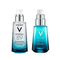 Vichy Mineral 89 Kit - Hidratante Facial + Hidratante para Olhos -
