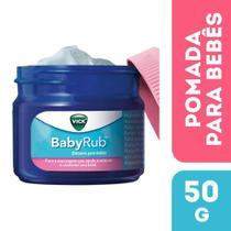 Vick BabyRub Bálsamo Para Bebês Pomada 50g -