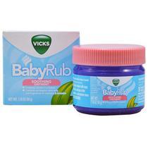 Vick BabyRub - Contra tosse e nariz congestionado dos bebês -