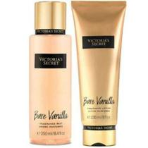 Victorias Secret Bare Vanilla Creme Hidratante 236ml Body Splash 250ml - Victoria secrets