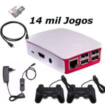 Vídeo Game 14 mil Jogos 32GB com 2 Controles case Official - Master info
