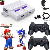 Video Game Antigo Mini Super 2 Controles PS3 64 Gb - Retrogamespi