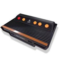 Vídeo Game Atari Flashback 7 com 101 Jogos na Memória 2 Joysticks com Fio -
