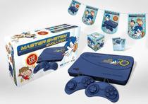 Vídeo Game Master System Evolution Blue 132 Jogos Tectoy -