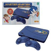 Video Game Master System Evolution Sega TecToy 132 Jogos Bivolt - Tec Toy
