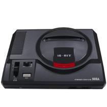 Video Game Mega Drive + Joystick + Cartão SD com 22 Jogos (expansível até 594 jogos) - Tectoy
