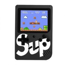 Vídeo Game Portátil 400 Jogos Internos Mini Game Sup - Preto - Sup game - Iwo