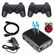Video Game Retro Case Cooler 16 gb Com 2 Controles S/ Fio PS3 - Retrogamespi