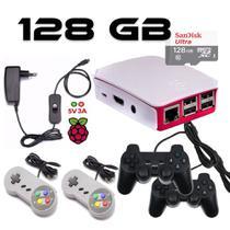 Vídeo Game Retro de 128GB com 4 Controles usb - Plaza games