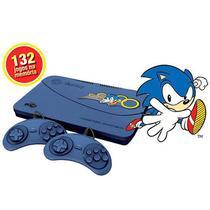Vídeo Game Tectoy Master System 132 Jogos 2 Controles Azul -