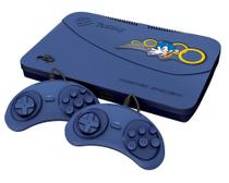 Video Game Tectoy Master SYSTEM - AZUL 2 Controle C/FIO, 1 Cabo AV -