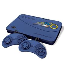 Video Game Tectoy Master System Evolution Azul c/ 2 Controle MS-132 -