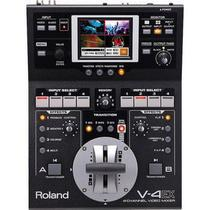 Vídeo Mixer Roland V-4EX de 4 Canais Digitais com Efeitos -