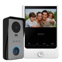 Video porteiro cabeado com terminal externo e monitor gen.2 esl-vpc43 - dcr-e: 2020125042 - Elsys