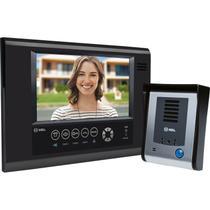 Vídeo Porteiro HDL com tela Touch screen SENSE Seven S Preto -
