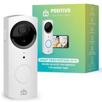 Vídeo Porteiro Smart Wi-Fi Positivo HD com Visão Noturna -