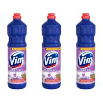 Vim Lavanda Cloro Gel Aditivo 700ml (Kit C/03) -