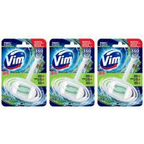 Vim Pinho 3em1 Bloco Sanitário 35g (Kit C/03) -