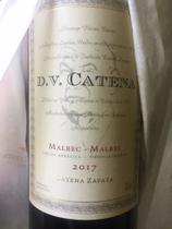 Vinho argentino dv catena malbec malbec kit 6 unidades -