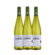 Vinho Aurora Varietal Riesling Branco Seco 3x750ml -