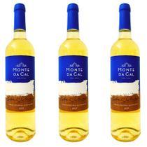 Vinho Branco seco Monte Da Cal Colheita Selec 750ml-Kit c/3 -
