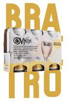 Vinho em Lata Brasileiro Ovnih Espumante Moscatel Pack 3 Unid 269 ml - Giaretta