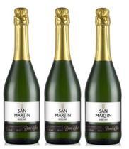 Vinho espumante branco demi-sec 3x 660ml - Espumante San Martin