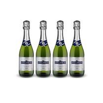 Vinho Espumante Quinta do Morgado Moscatel 660ml - Kit 4 Garrafas Espumante Quinta do Morgado Branco - Fante