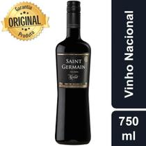 Vinho Tinto Nacional Merlot Saint Germain Demi Meio Seco 750ml -
