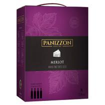 Vinho Tinto Seco Merlot Panizzon Bag in Box 3L -