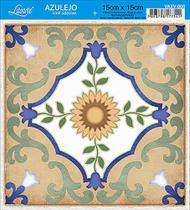 Vinil Adesivo Azulejo Decorativo e Parede VAXV-008 - Litoarte -