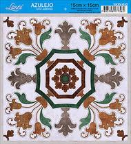 Vinil Adesivo Azulejo Decorativo e Parede VAXV-010 - Litoarte -