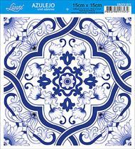 Vinil Adesivo Azulejo Decorativo e Parede VAXV-011 - Litoarte -