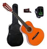 Viola Acústica Natural VS14 Giannini + Capa + Dedeira Fender + Afinador -