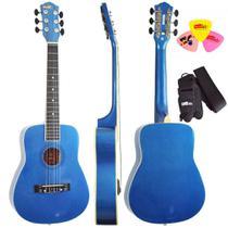 Violão 1/2 Infantil Nylon Kids V2 Mb Azul Metálico Tagima -