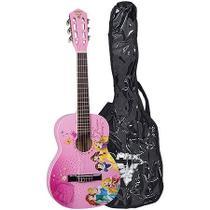 Violão Acústico Infantil Phx Disney princesa Vip-3 Com Bag -