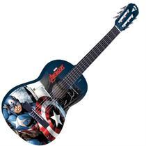 Violão Acústico Nylon Infantil Marvel Capitão América PHX -