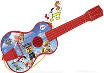 Violão Com Cordas Patrulha Canina Menino Instrumento Musical Infantil Brinquedo Educativo Criança +3 Anos Elka -