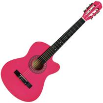 Violão Eletroacústico Auburn AUBVO626BE1 Cutway Verniz Pink -
